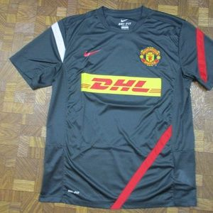 Nike Manchester United Soccer Jersey Men's Large